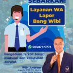 Aksi Wibi Andrino Fraksi NasDem Hadapi Banjir Jakarta