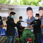 Kader NasDem Lampung Beri Mesin Pencacah Rumput