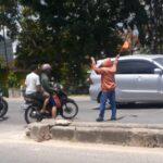 Kok Bisa Motor Dinas Polisi Dikendarai Warga Tanpa Helm?