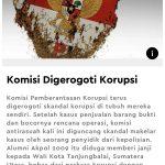 Aziz Syamsudin di Pusaran Dugaan Makelar Kasus Korupsi Wali Kota Tanjungbalai