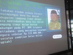 Yusdianto: Kejati Lampung Tak Pernah Utarakan Pencekalan DPO Satono ke Publik