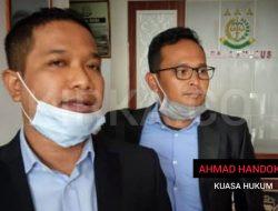 Ahmad Handoko Kuasa Hukum Praperadilan Tersangka Korupsi Hengky Widodo
