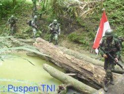 TNI Terima Tantang Perang OPM di Ilaga Papua