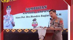 Kapolres Lampung Selatan Dapat Tugas Penting Dari Kapolda Lampung