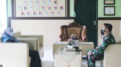 Jelang Purna Tugas, Ketua PN Sukadana Silaturahmi ke Makodim 0429/Lampung Timur