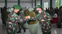 Dandim 0429/Lampung Timur hadiri Sertijab Kasrem 043/Gatam