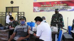 Kodim 0429/Lamtim Laksanakan Vaksinasi Bagi Lansia
