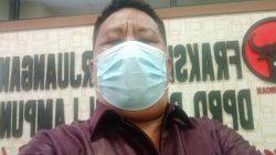 DPRD Lampung Dukung Elemen Masyarakat Laporkan Soal Jalan Poros Tegal Mukti Tajab