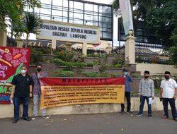 Dugaan Tender Terkondisi Di Lampung Tengah, LSM Malapetaka Sambangi Polda Lampung