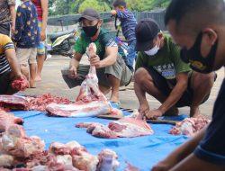 Kodim 0429 Lampung Timur Sembelih Hewan Kurban