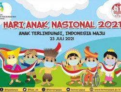Hari Anak Nasional 2021: Anak Terlindungi, Indonesia Maju