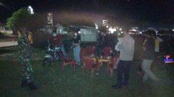 Personil TNI-Polri di Lampung Timur Himbau Warga Kurangi Aktivitas Malam