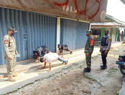 TNI-Polri dan Fokorpimcam Lamtim, Gelar Operasi Yustisi