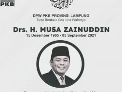 Musa Zainudin Eks Anggota DPR Tutup Usia
