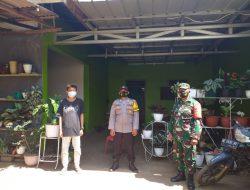TNI-Polri Lampung Timur Tracing Warga Sribhawono