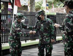 Inspektur Puskesad TNI-AD Sambangi RS DKT Lampung